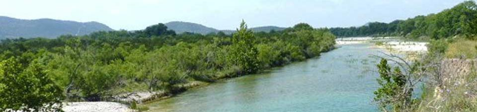 The Nueces River at Camp Fawcett